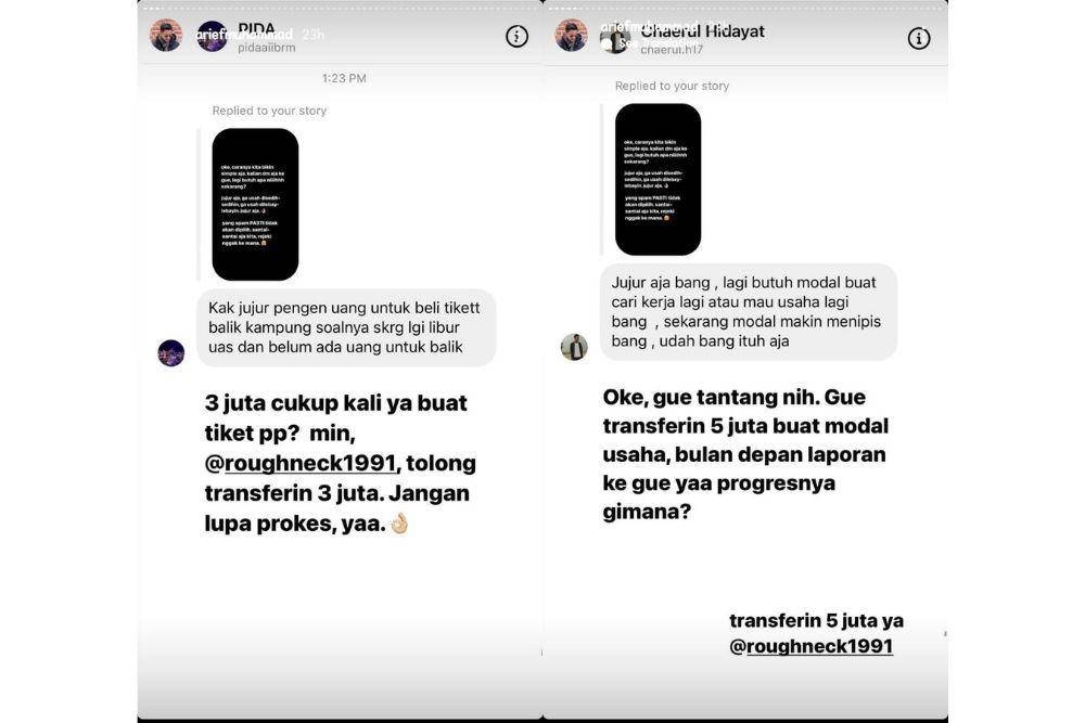 Tren Ikoy-Ikoyan Arief Muhammad Munculkan Fenomena Ngemis Online?