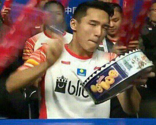 10 Meme Kocak Atlet Badminton Ini Bikin Capek Banget Ngakak, Gereget!