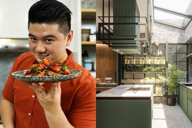 10 Potret Dapur Baru Chef Arnold, Seperti Comot dari Pinterest