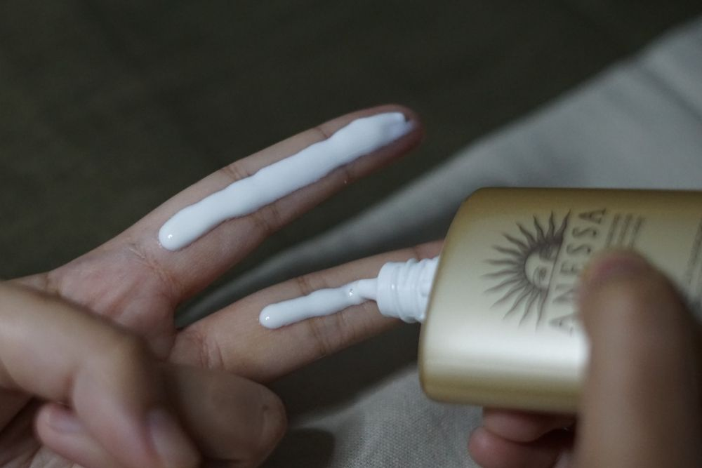 Review: Anessa Perfect UV Sunscreen Skincare Milk, Tanpa Rasa Lengket