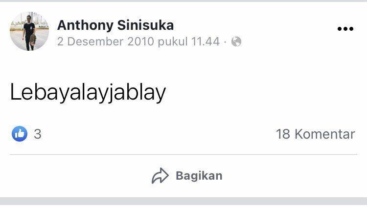 Raih Perunggu, 13 Status Sosmed Lama Anthony Ginting Ini Bikin Ngakak