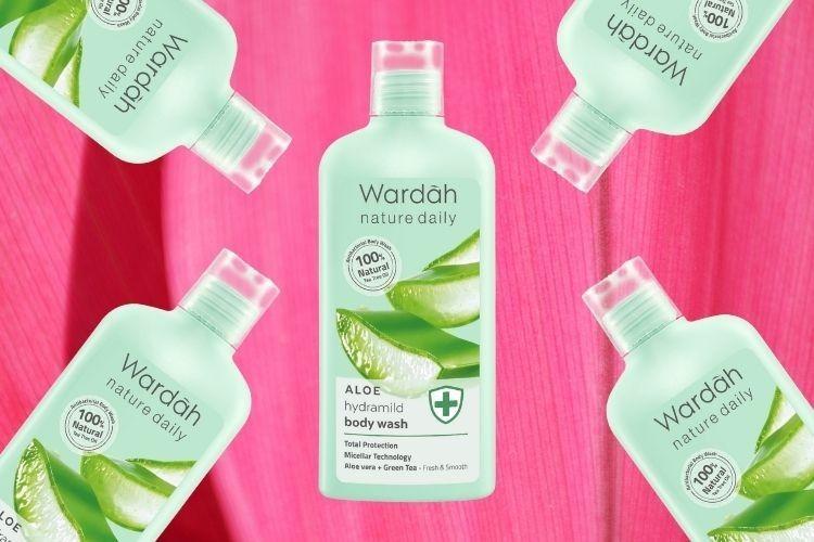 Review: Wardah Nature Daily Aloe Hydramild Body Wash, Segar & Lembap!