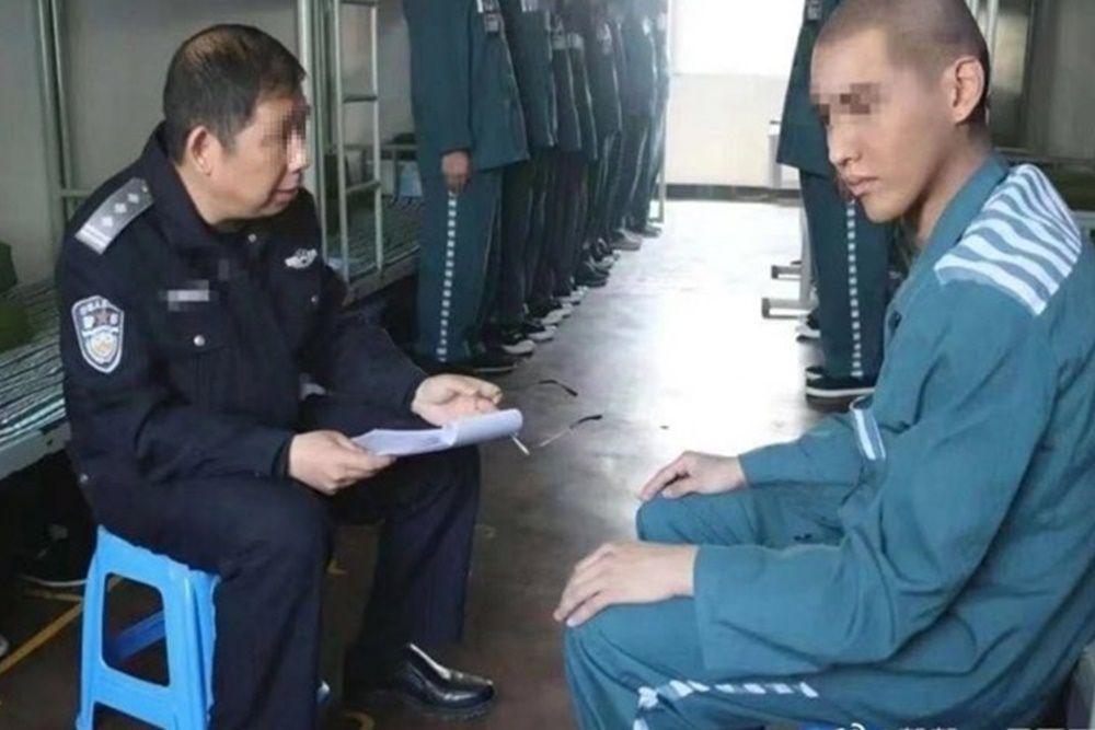 Beredar Foto Kris Wu di Dalam Penahanan dengan Rambut Dicukur