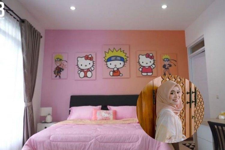 Ada Tema Hello Kitty, Ini 10 Potret Rumah Baru Lesty Kejora di Kampung