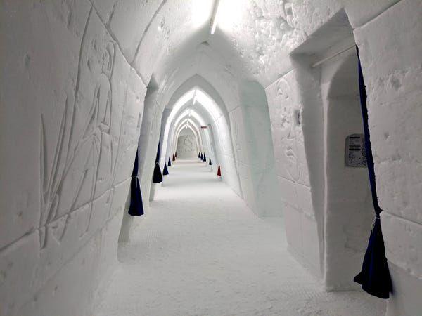 Terbuat dari Es, Siapa yang Berani Menginap di Hôtel de Glace ini?