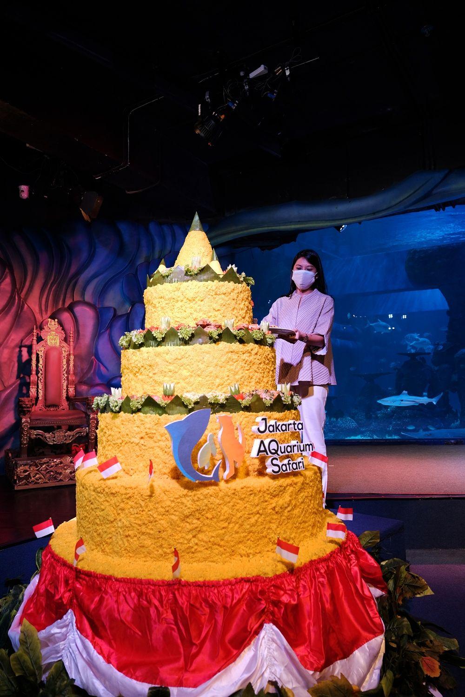 Foto-Foto Megahnya Perayaan Hari Kemerdekaan di Jakarta Aquarium