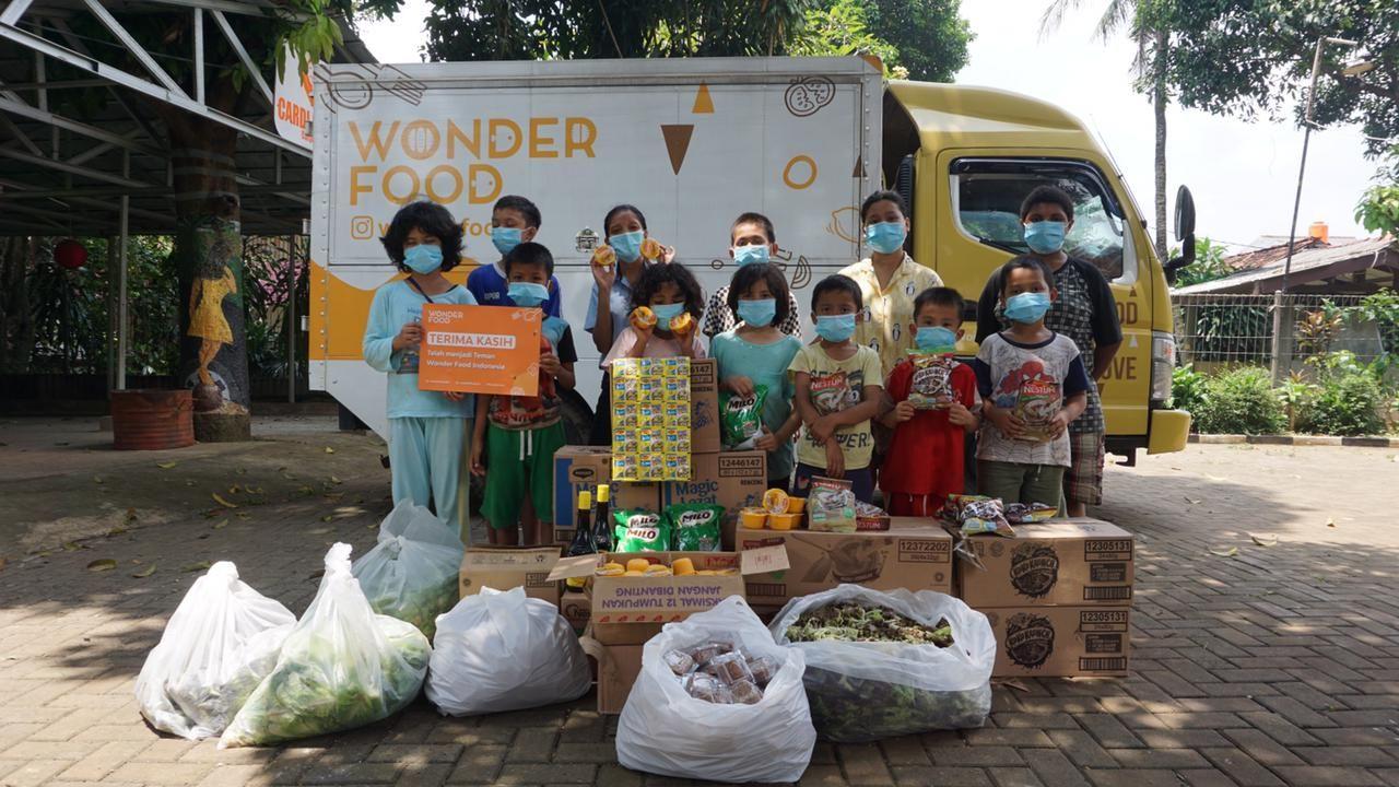 Wonder Food Indonesia, Selamatkan Makanan Berlebih untuk Berbagi