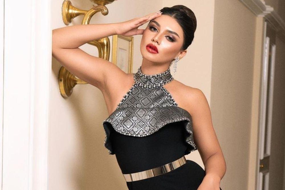 7 Pesona Jihane Almira Ketika Pemotretan, Bold and Glamour!