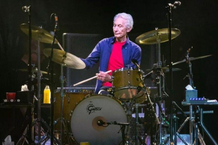 10 Foto Kenangan Charlie Watts dan The Rolling Stones Sebelum Wafat