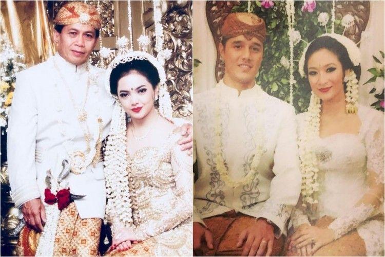 10 Foto Jadul Pernikahan Artis Indonesia, Ada yang Dipisahkan Maut