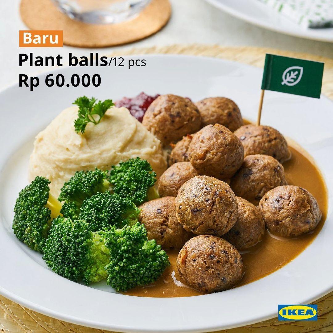 Mulai dari Rp6 Ribu, Ini Deretan Menu Plant-Based Baru di IKEA