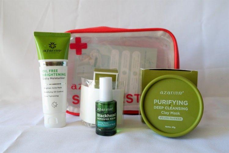 Kulit Wajah Sehat dengan Azarine Skin First Aid Natasha Wilona