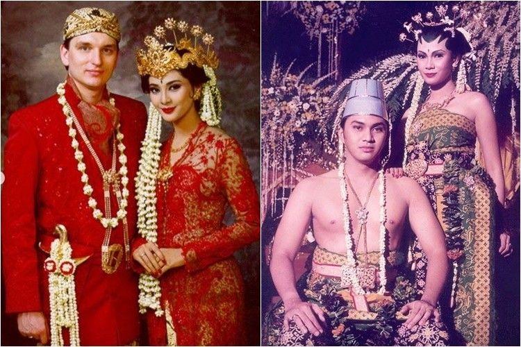 9 Potret Lawas Pernikahan Artis 90-an, Langgeng Hingga Puluhan Tahun