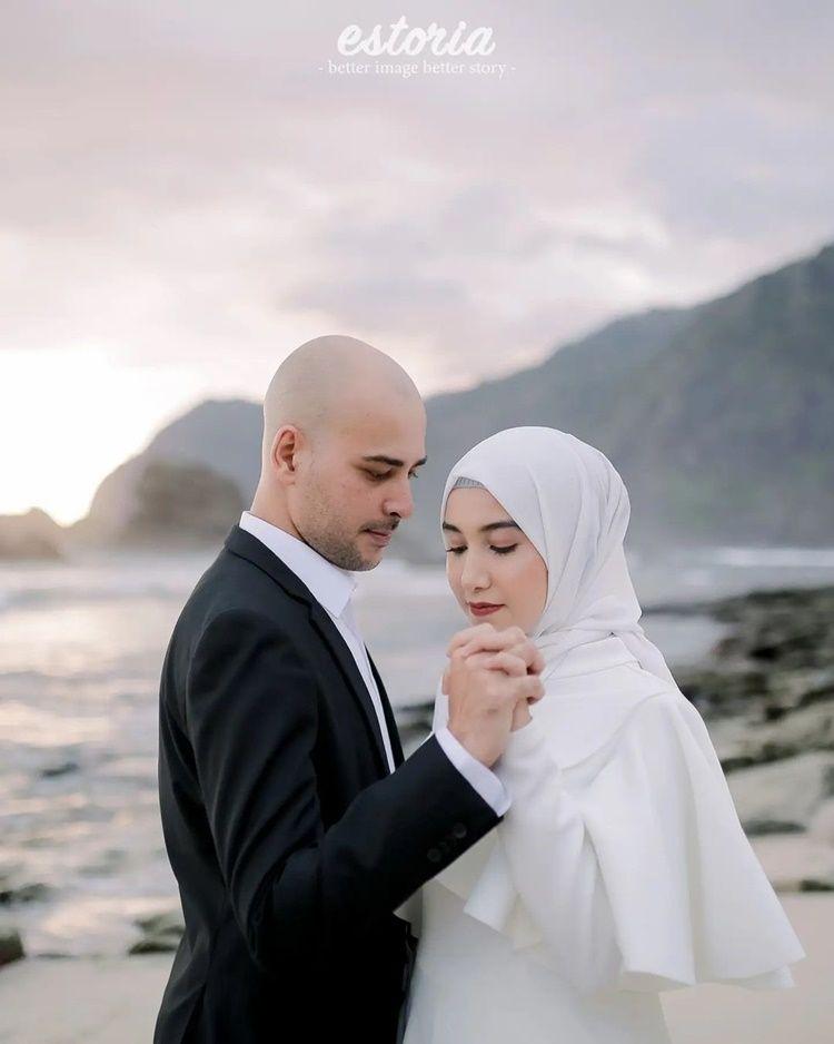 10 Foto Pernikahan Riza Shahab dan Sonia Alattas, Bernuansa Arab!