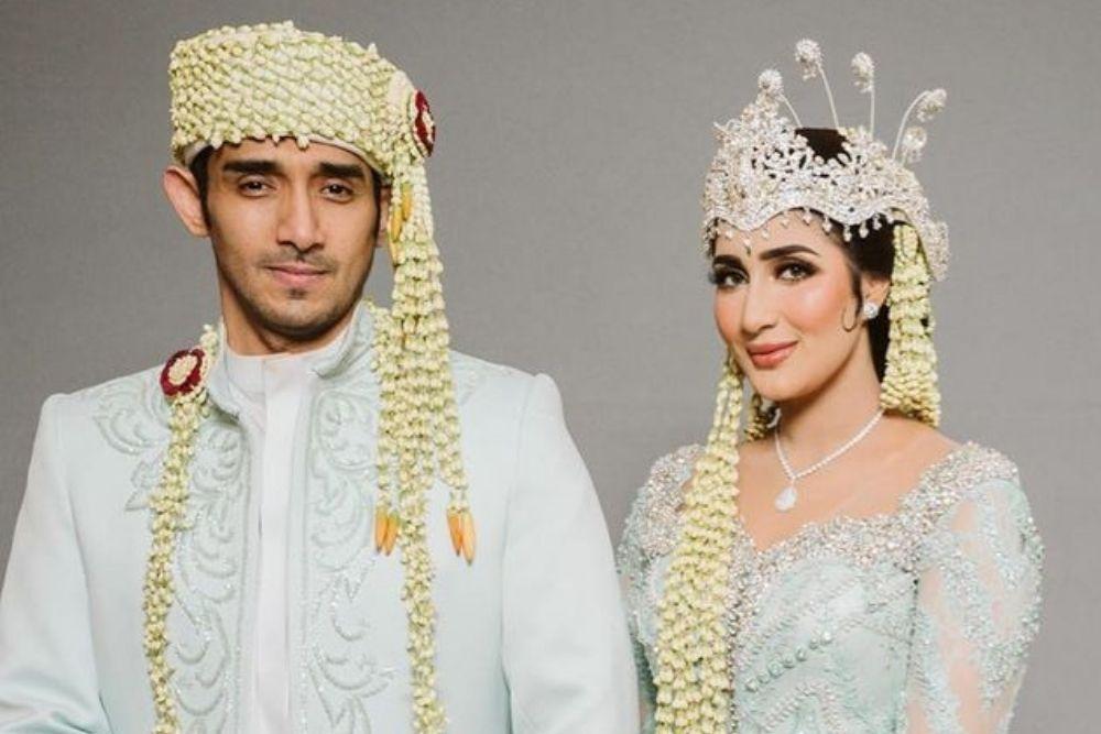 8 Pesona Seleb yang Menikah dengan Sentuhan Arab, Glamor dan Mewah!