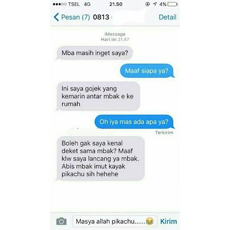 11 Chat Ngajak Kenalan tapi Akhirnya Gagal, Bikin Ketawa!