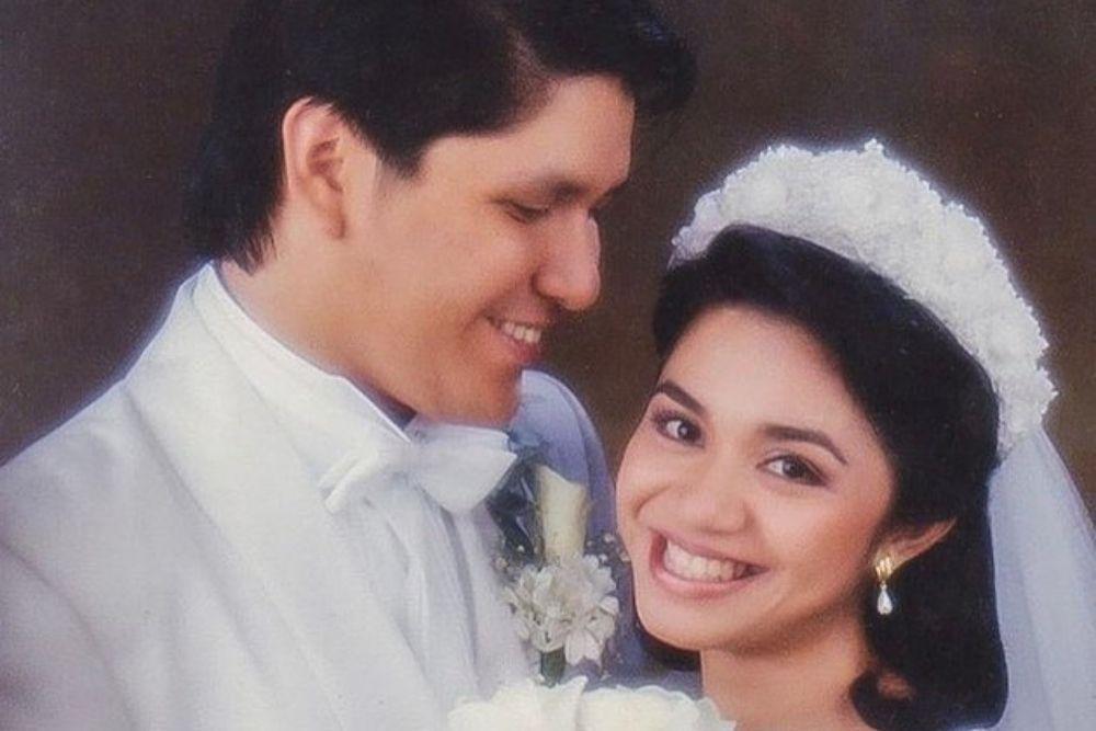 Begini Potret Jadul Artis 90-an Ketika Menikah,Natural hingga Glamor