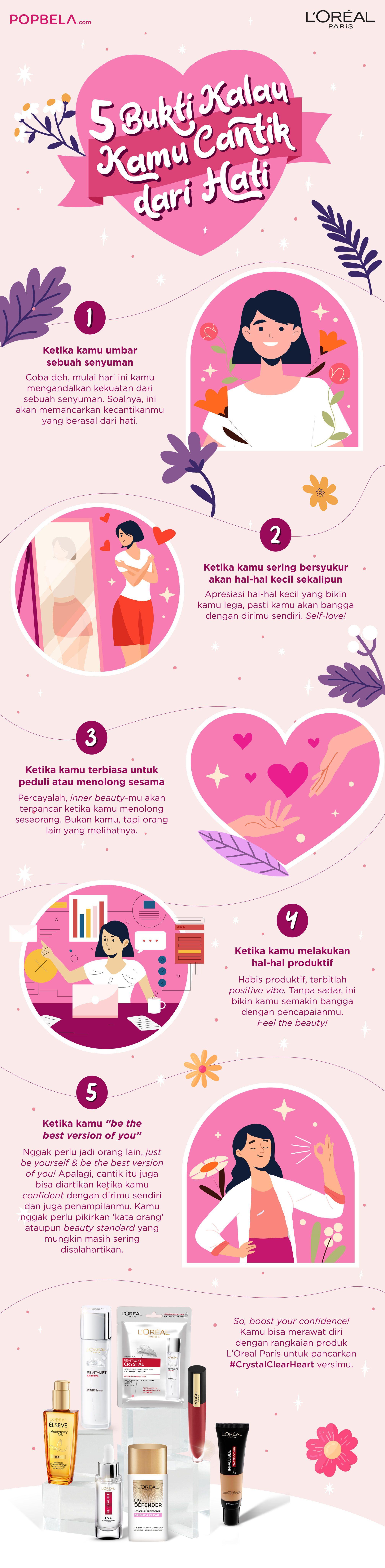 Baca 5 Hal Ini Perlahan, Kamu Bisa Paham Betapa Cantiknya Kamu!