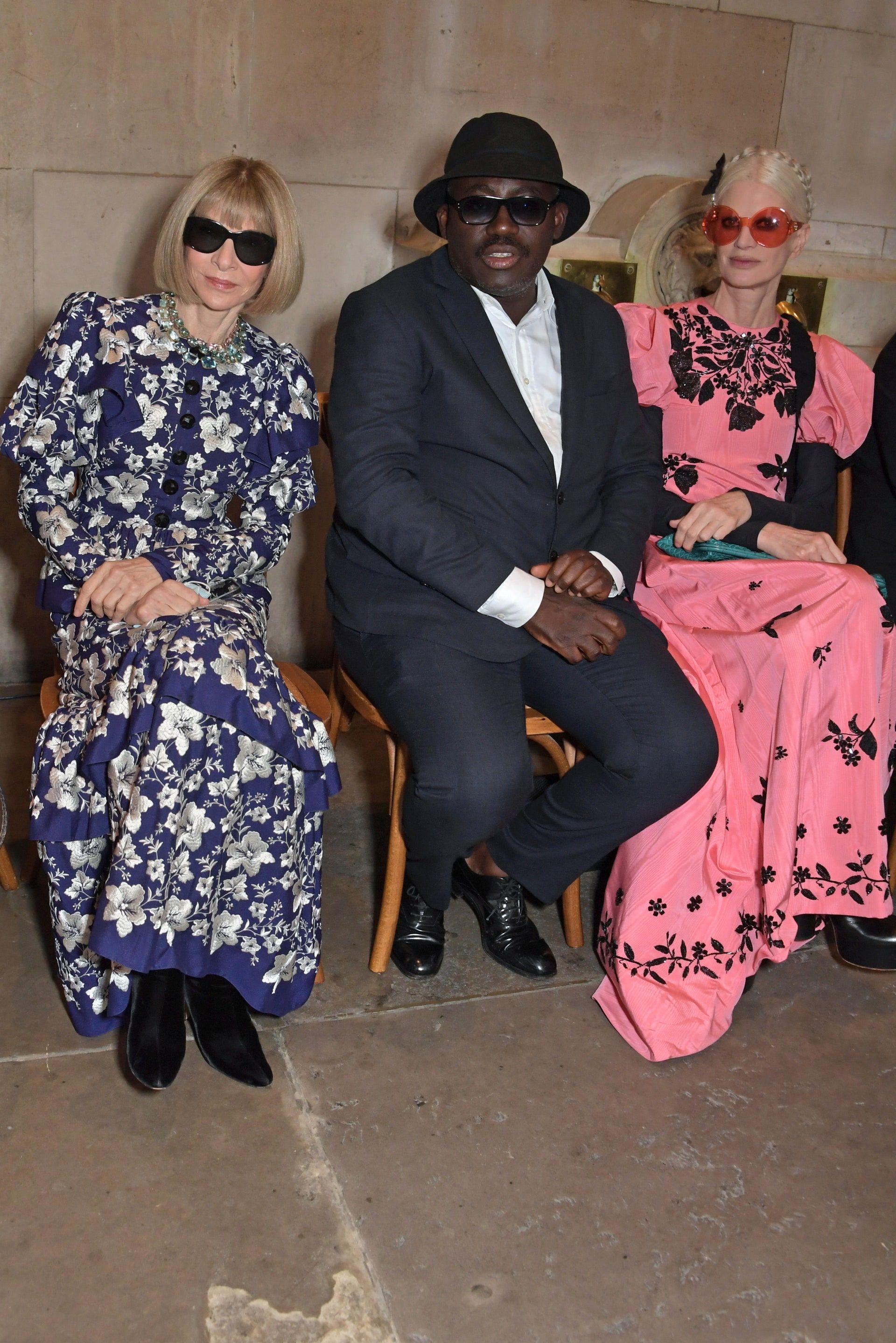 Gaya Terbaik Para Seleb yang Hadir di London Fashion Week