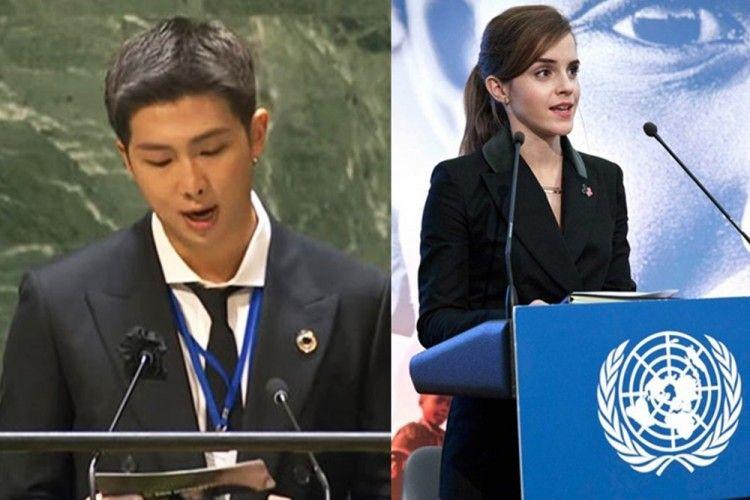 Selain BTS, 5 Artis Hollywood Ini Pernah Tampil di Sidang Umum PBB