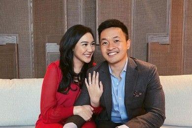 5 Kisah Balik Lamaran Putri Tanjung, Calon Suami Jadi Sorotan