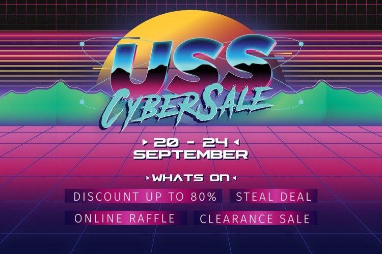 USS CYBERSALE 2021, Hadir Secara Virtual dengan Promo Hingga 80%