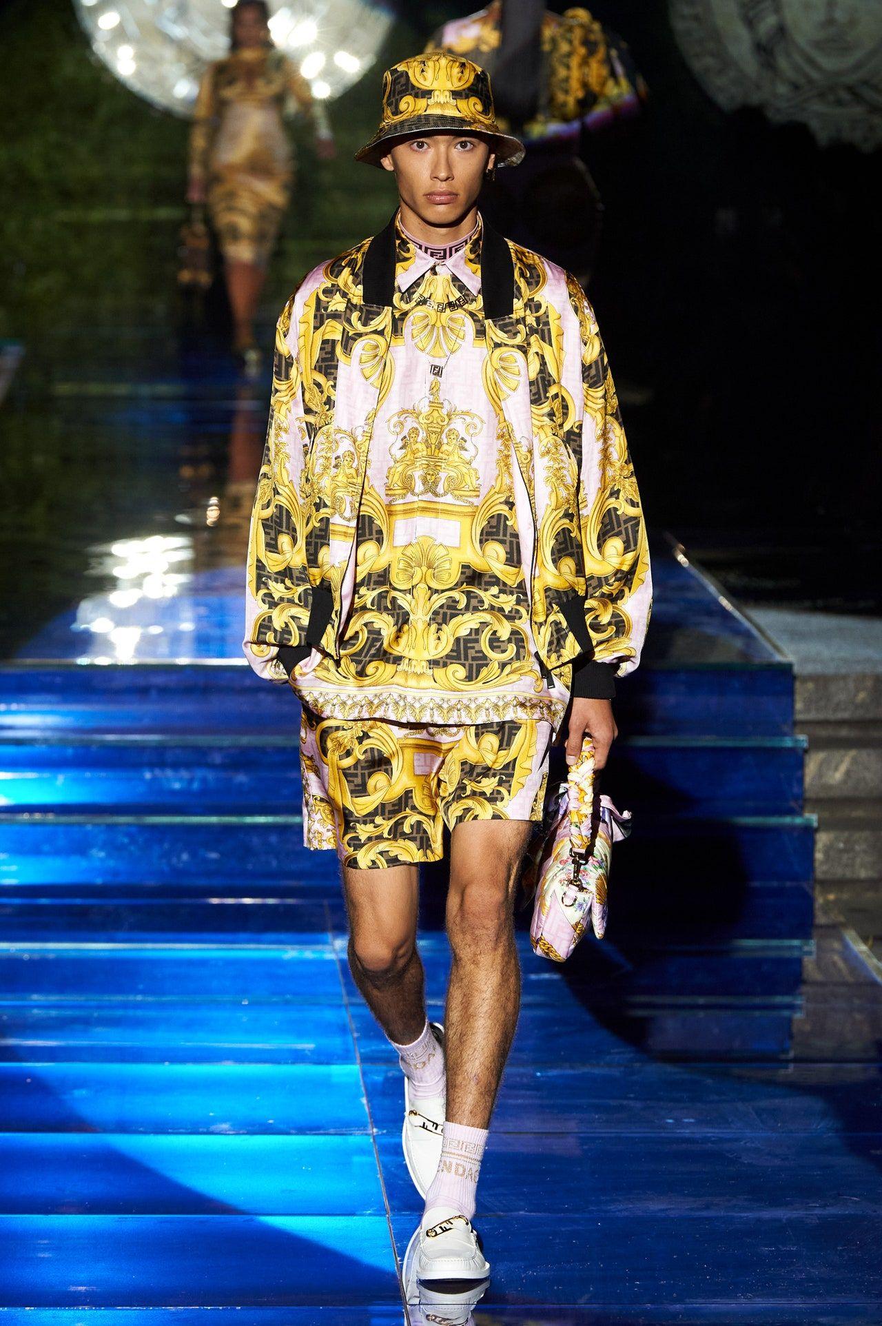 Fendace, Kolaborasi Ikonik Fendi dan Versace diMilan Fashion Week