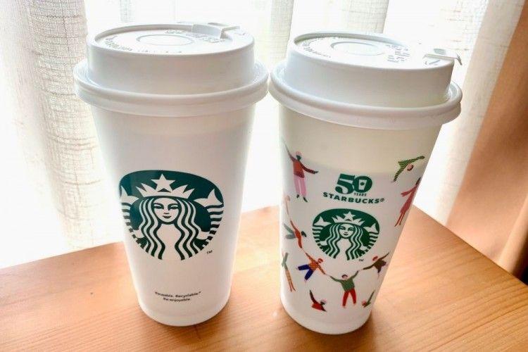 Starbucks Rayakan 50 Tahun dengan Meluncurkan Reusable Cup Terbatas