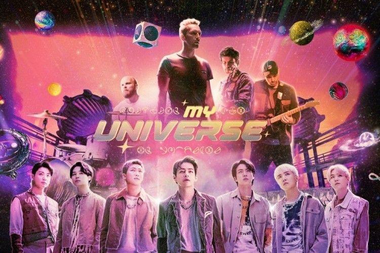 """Tiga Planet Jadi Satu, Ini Hal Menarik MV """"Universe"""" Coldplay X BTS"""