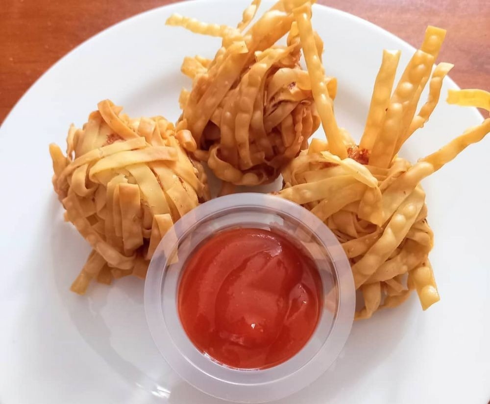 Resep Udang Rambutan a la Mie Gacoan, Enak dan Cocok Buat Camilan