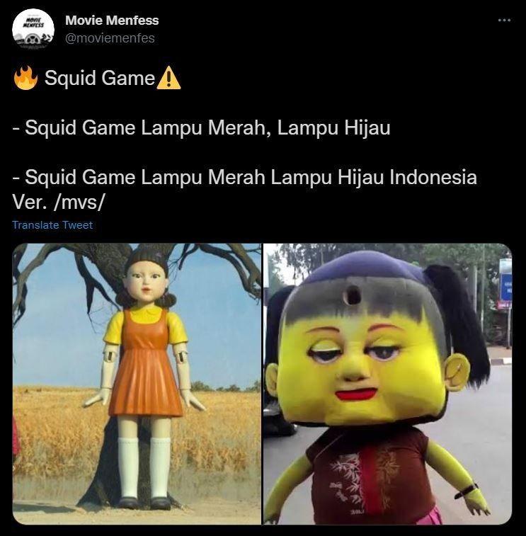 Ada Kim Soo-hyun, Ini 15 Meme Terkocak 'Squid Game' Karya Warganet