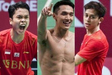 Ini 12 Atlet Indonesia Berhasil Bawa Pulang Piala Thomas Cup 2020