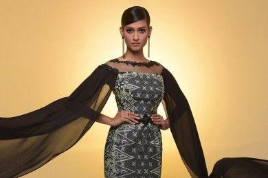 Gaya Asli Lava Sivaji, Miss World Malaysia Viral karena Batik