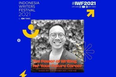 IWF 2021 Berbagi Ilmu Menjadi Penulis Samuel Ray